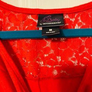 Dresses - Motherhood Maternity Size Medium Red Maxi Dress